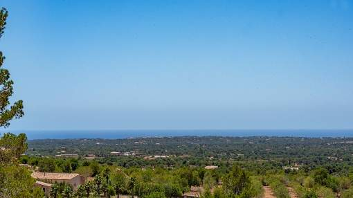 New-build finca with spectacular sea views