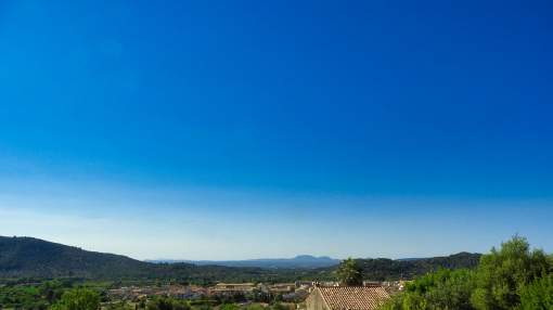 Plot with fabulous views and project in Alaró