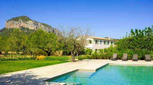 Magnificent newly built country home in Alaró