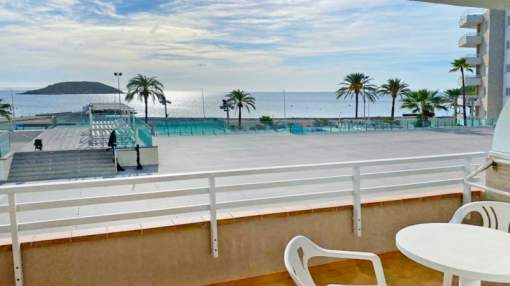 Well-kept apartment with sea view in Magaluf