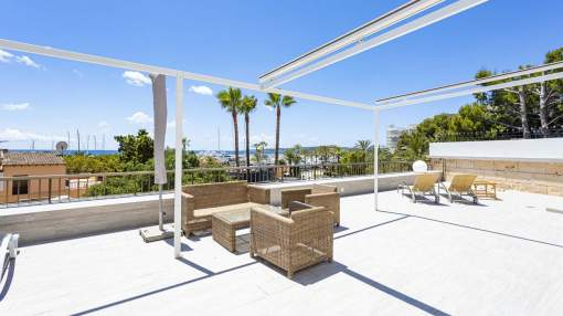 Luxurious sea view apartment for sale in Portals Nous, Mallorca