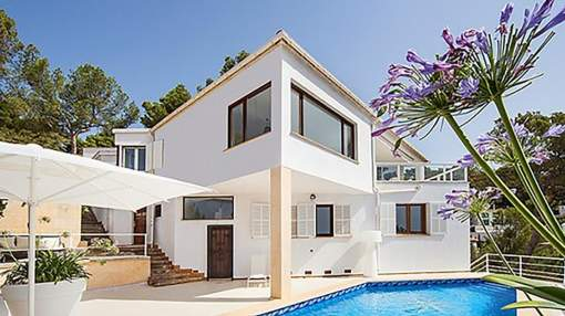 Stunning villa in Costa d'en Blanes with amazing views & saltwater pool