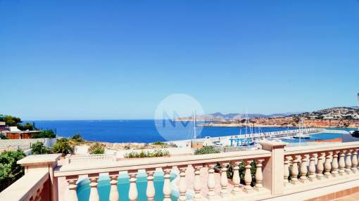 Fabulous villa with lovely views of the sea and port, El Toro, Majorca