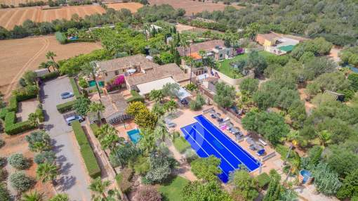 Marvellous country hotel near Campos in the south of Mallorca