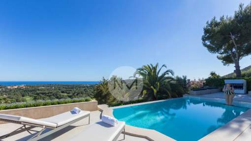 Luxury villa near golf in Bendinat in Mallorca