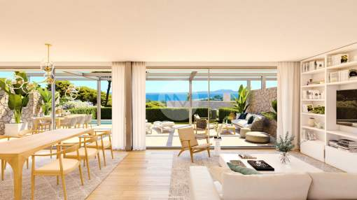 Exclusive townhouses in Cala Vinyas in Mallorca