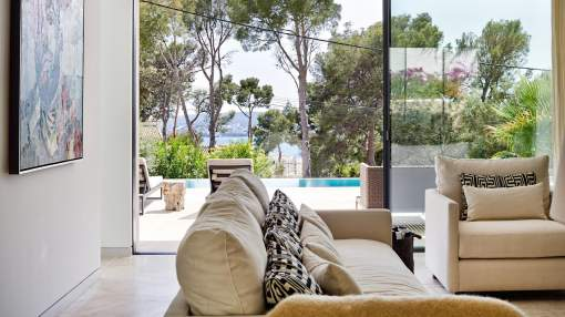 Villa with sea views for sale in Portals Nous, Majorca.
