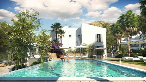 Apartments near the beach for sale in Canyamel, Majorca.