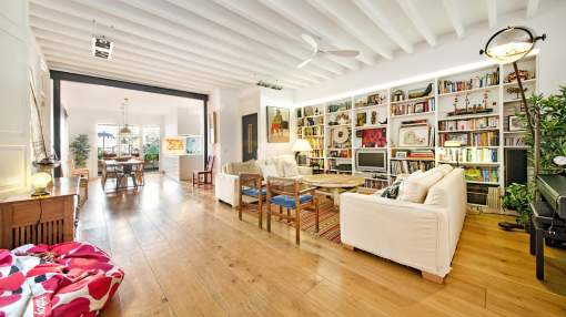 Renovated duplex apartment for sale in the Old Town of Palma de Mallorca