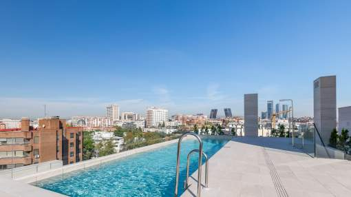 Exclusive new development apartment in Chamartín