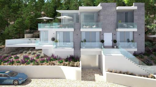 Luxury project with sea views in Santa Ponsa