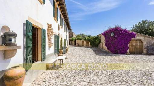 Beautiful finca with character in a quiet environment with lots of privacy in Mallorca
