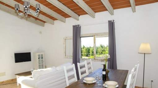 Country house near Can Picafort with 3 bedrooms, private pool and small garden