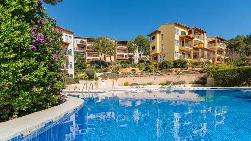 Beautiful, well-maintained garden apartment in Cala Fornells