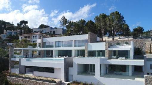 Extraordinary new-built villa in best location in the exclusive Son Vida Hills