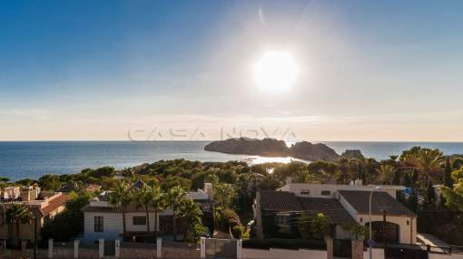 Santa Ponsa - New construction Villa Mallorca with unique panoramic sea view