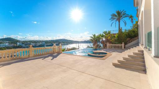 Santa Ponsa - Renovated villa with impressive sea views in the southwest of Mallorca