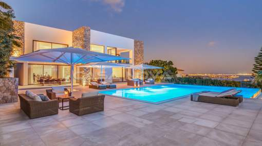 Bendinat - Exclusive villa in Anchorage Hill with panoramic sea views