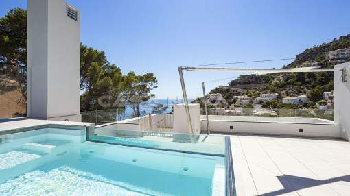 Puerto Andratx- Cala Moragues - Sea view penthouse with roofterrace