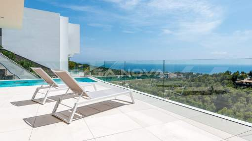 Costa d´en Blanes - Wonderful villa Mallorca with pool and excellent sea views