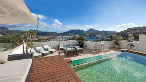 Puerto Andratx- Cala Moragues - Fantastic Penthouse with sea view